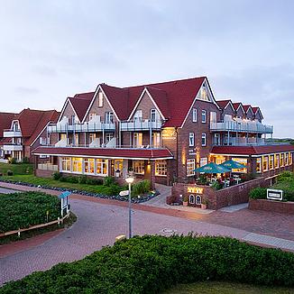 Hotel strandhof hotel baltrum an der nordsee for Hotel direkt an der nordsee