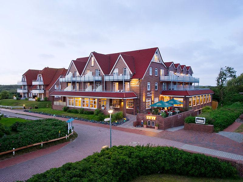 Hotel strandhof hotel baltrum an der nordsee for Hotels insel juist nordsee